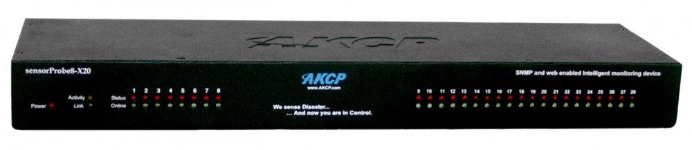 AKCP sensorProbe8-X20
